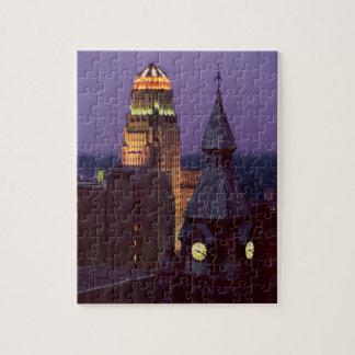 ayuntamientos del condado de Erie de la caja de re Puzzle Con Fotos