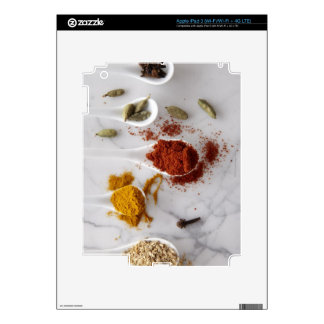 Ayurvedic Warming Spices Decal For iPad 3