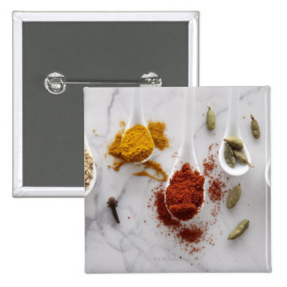 Ayurvedic Warming Spices Pinback Button