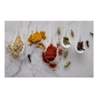Ayurvedic Warming Spices Poster
