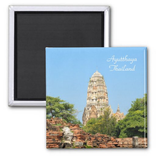 Ayutthaya, ancient capital of Thailand Refrigerator Magnet