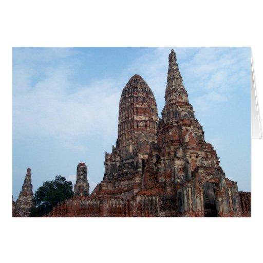 Ayutthaya Greeting Card