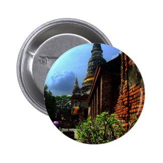 Ayutthaya. Wat Yai Chai Mongkol. Pins