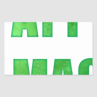 ayy lmao rectangular sticker