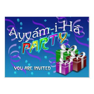 Ayyám-i-Há Party Card
