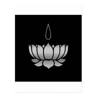 Ayyavazhi Religion-lotus carrying namam Postcard