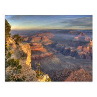 AZ, Arizona, Grand Canyon National Park, South 2 Post Card