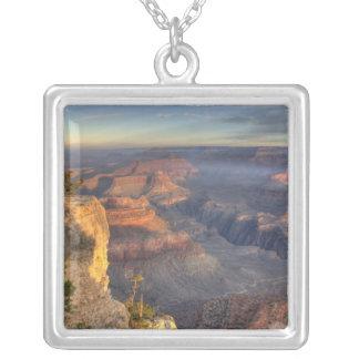 AZ, Arizona, Grand Canyon National Park, South 2 Silver Plated Necklace