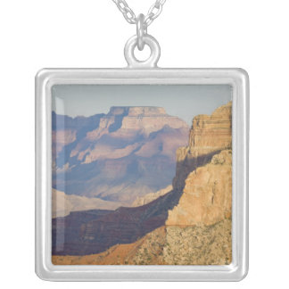 AZ, Arizona, Grand Canyon National Park, South 3 Silver Plated Necklace