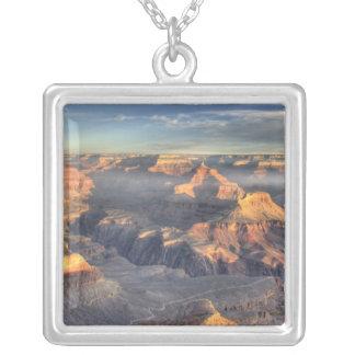 AZ, Arizona, Grand Canyon National Park, South 5 Silver Plated Necklace