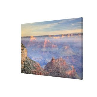 AZ, Arizona, Grand Canyon National Park, South 6 Canvas Print