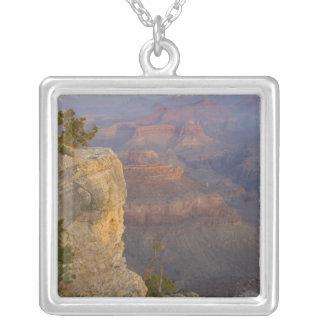 AZ, Arizona, Grand Canyon National Park, South 7 Silver Plated Necklace