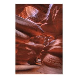 AZ, Arizona, página, barranco superior del antílop Cojinete