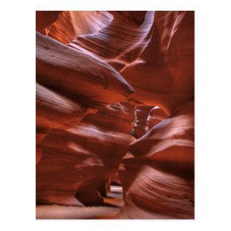 AZ, Arizona, página, barranco superior del Postal