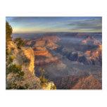 AZ, Arizona, parque nacional del Gran Cañón, 2 del Postal