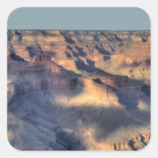 AZ, Arizona, parque nacional del Gran Cañón, 4 del Pegatinas Cuadradas