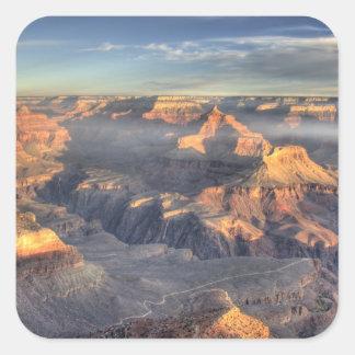 AZ, Arizona, parque nacional del Gran Cañón, 5 del Pegatinas Cuadradas