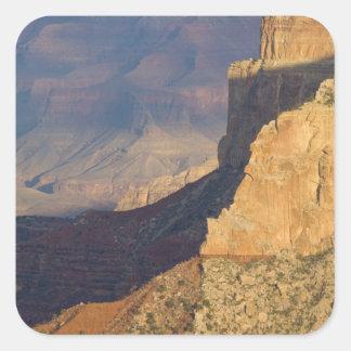 AZ, Arizona, parque nacional del Gran Cañón, 8 del Calcomanias Cuadradas