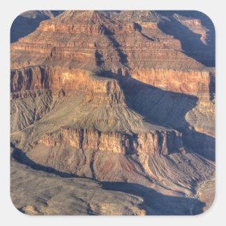 AZ, Arizona, parque nacional del Gran Cañón, 9 del Calcomania Cuadradas