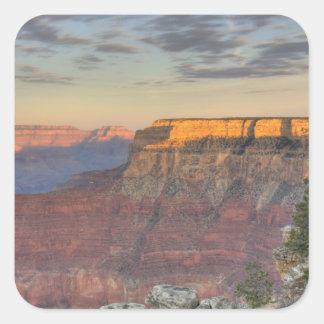 AZ, Arizona, parque nacional del Gran Cañón, del Pegatinas Cuadradases