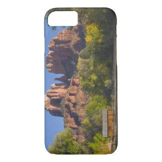 AZ, Arizona, Sedona, Crescent Moon Recreation 2 iPhone 7 Case