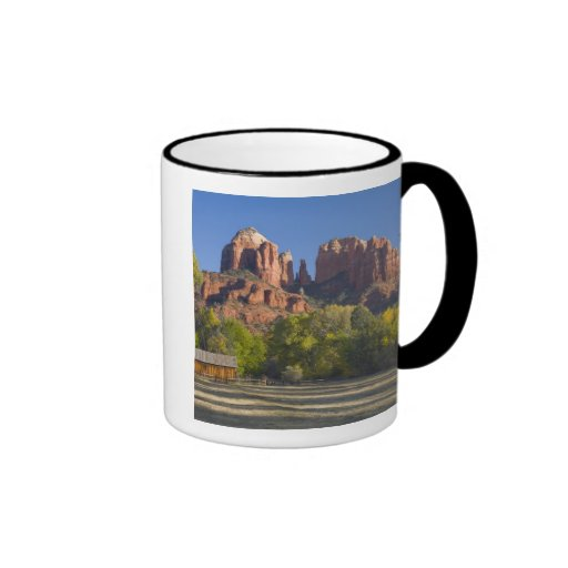 AZ, Arizona, Sedona, Crescent Moon Recreation 2 Mugs