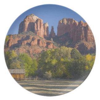 AZ, Arizona, Sedona, Crescent Moon Recreation 2 Plate
