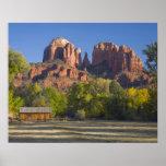AZ, Arizona, Sedona, Crescent Moon Recreation 2 Print