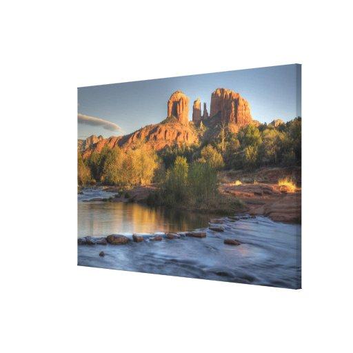 AZ, Arizona, Sedona, Crescent Moon Recreation 3 Canvas Print