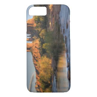 AZ, Arizona, Sedona, Crescent Moon Recreation 3 iPhone 7 Case