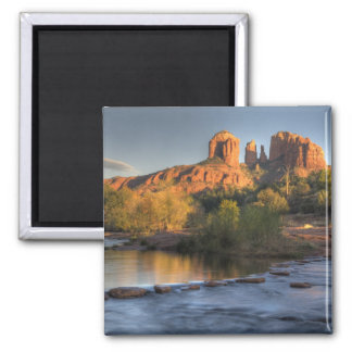 AZ, Arizona, Sedona, Crescent Moon Recreation 3 Magnet