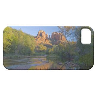 AZ, Arizona, Sedona, Crescent Moon Recreation iPhone 5 Cover