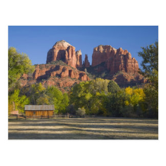 AZ, Arizona, Sedona, reconstrucción creciente 2 de Tarjeta Postal