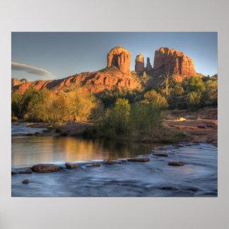 AZ, Arizona, Sedona, reconstrucción creciente 3 de Impresiones
