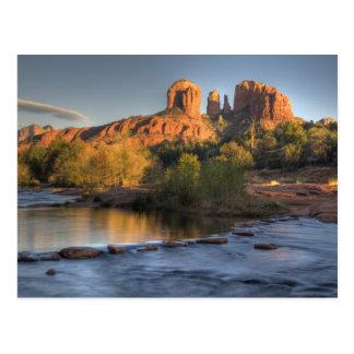AZ, Arizona, Sedona, reconstrucción creciente 3 de Postal