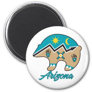 AZ Bear Clan 2 Inch Round Magnet