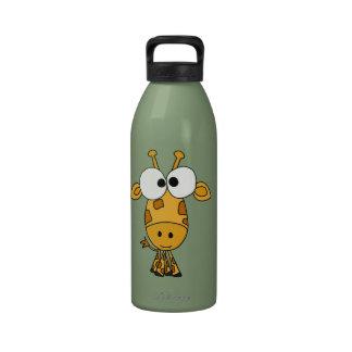 AZ- botella de agua divertida de la jirafa