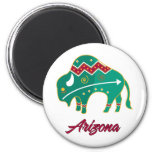 AZ Buffalo Clan 2 2 Inch Round Magnet