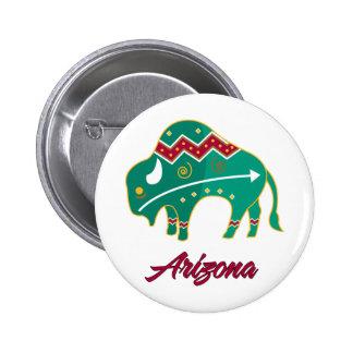 AZ Buffalo Clan 2 Pinback Buttons