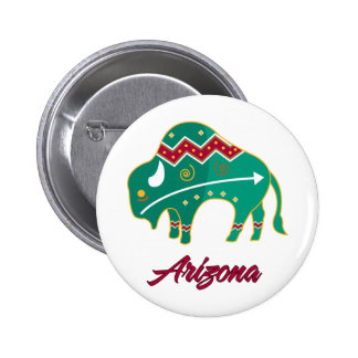 AZ Buffalo Clan 2 Pinback Button