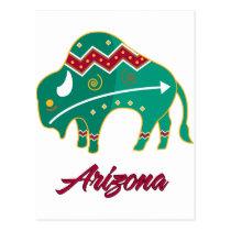 AZ Buffalo Clan 2 Postcard