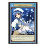 "AZ card-Brisk Blade 3.5"" X 5"" Invitation Card"