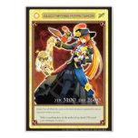 AZ card - Electrifying Puppetshow 招待状
