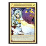 """AZ card - Emergent Glint 3.5"""" X 5"""" Invitation Card"""
