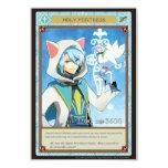 """AZ card - Holy Fortress 3.5"""" X 5"""" Invitation Card"""
