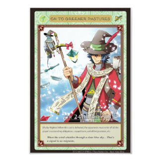 AZ card - ON to Greener Pastures