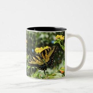 AZ- Cheerful Yellow Butterfly Mug