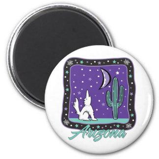 AZ-Coyote 2 Inch Round Magnet