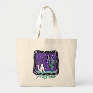 AZ-Coyote Canvas Bags