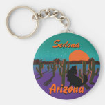 AZ-Coyote YOUR CITY CUSTOMIZED Keychains